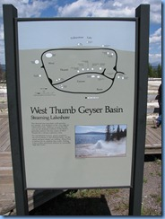9015 West Thumb Geyser Basin YNP WY