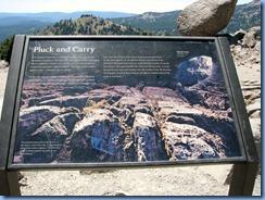 1755 Glacial Erratic Lassen Volcanic National Park CA