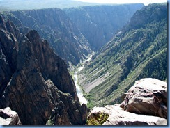 6086  Black Canyon of the Gunnison National Park South Rim Rd Pulpit Rock Overlook CO