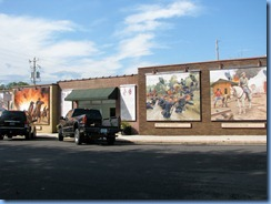 6623 Cuba Route 66 Mural City Civil War mural MO