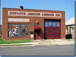 6656 Cuba Route 66 Mural City Roberts-Judson Lumber Co mural MO