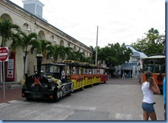 7315 Key West FL - Conch Tour Train 1st stop back on Conch Tour Train