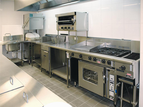 Catering restaurant equipment for Equipement cafe