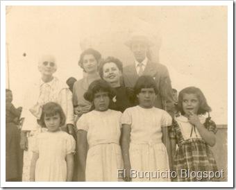 Mama Lola, Mirin, Lolita, Leoncio, Sonia, XX, Aurora y Niove