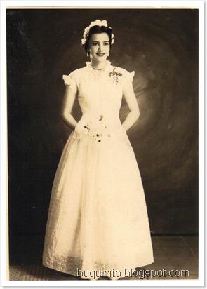 María Auxiliadora Vallejo, el día de su investidura