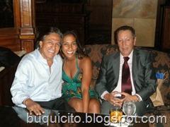 shaira con el ex presidente Alejandro Toledo
