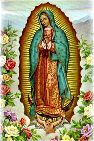 RUBY: I have always wanted a Virgen de Guadalupe tattoo but always feared it