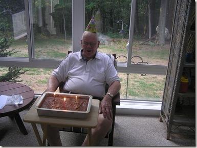 Poppy's 89th birthday (2)