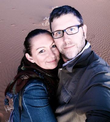 Lara Dunston and Terence Carter