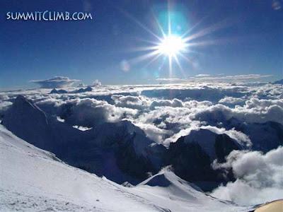 Majestic View from Cho Oyu Camp 3 (Courtesy of SummitClimb)