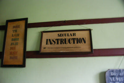 19th c school sign