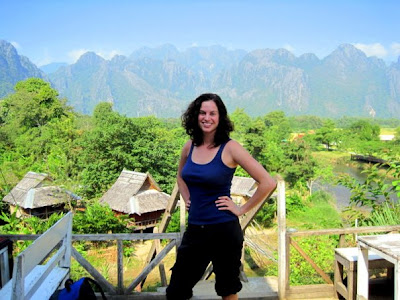 Around the World L In Vang Vieng, Laos