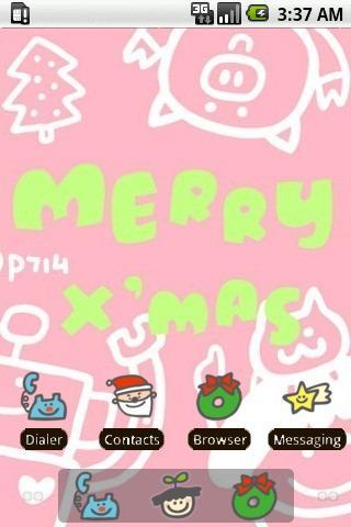 P714 Merry Xmas [SQTheme] ADW