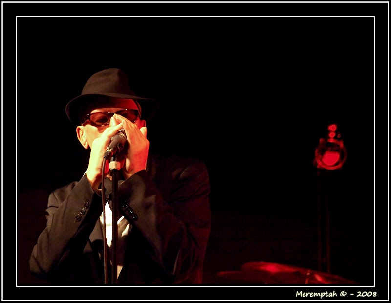 Alain Bashung Harmonica Nice Cimiez Meremptah