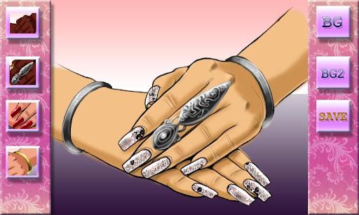 爺的指甲樣式