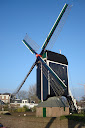 molino holandés en Leiden