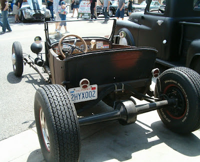 1926 Ford T-Bucket of Richard Nuss rear view
