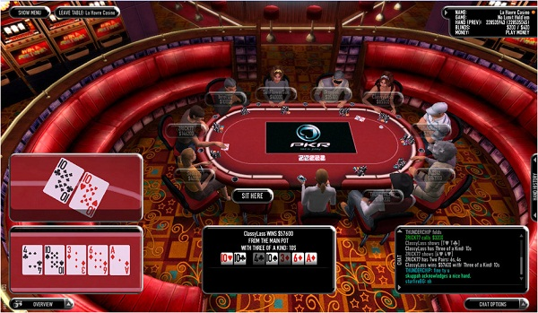 PKRbig Poker Online