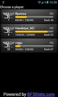 Screenshot of BF3 Stats Premium