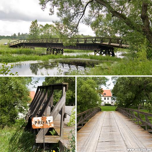 Träbron över Fyrisån vid Fyrisvall, Ärentuna socken