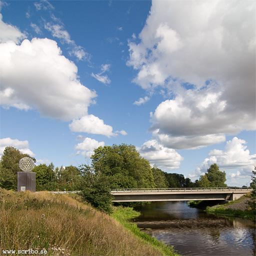 Ärnabron i Uppsala från väster