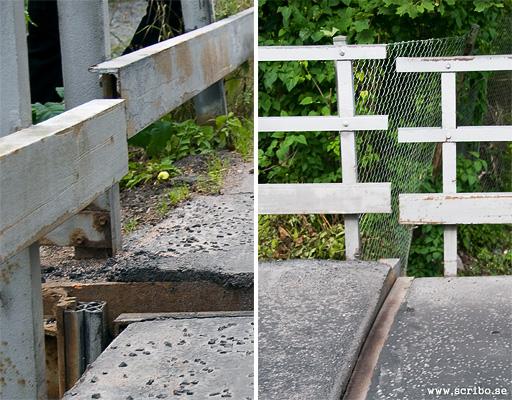 Glipa mellan väg och bro, Flottsundsbron