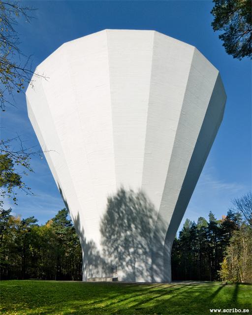 Vattentornet i Stadsskogen