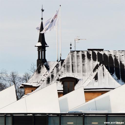 Taken på gamla och nya stationshusen, Uppsala