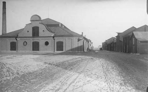 Strandbodgatan 1901, kollagret