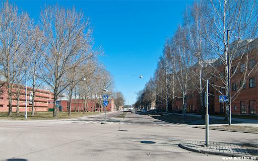 Korsningen Strandbodgatan och Östra Ågatan 2011