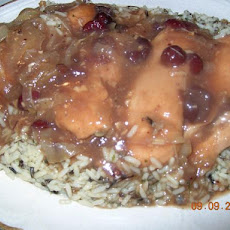 Crock Pot Cranberry Chicken