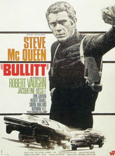 Детектив Буллитт постер Bullitt poster