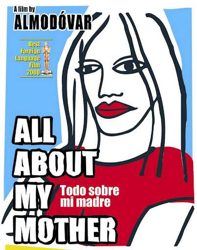 Всё о моей матери постер Todo Sobre Mi Madre poster