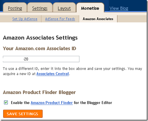 amazon associates blogger