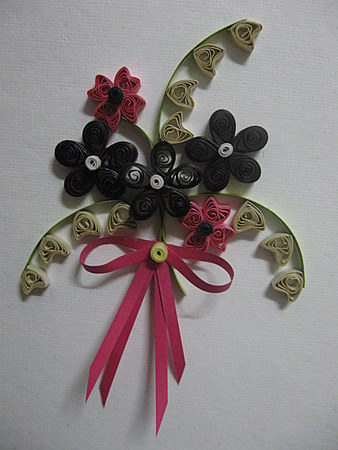 Quilling-Flower-Bouquet