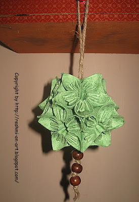 Kusudama-paper-flower