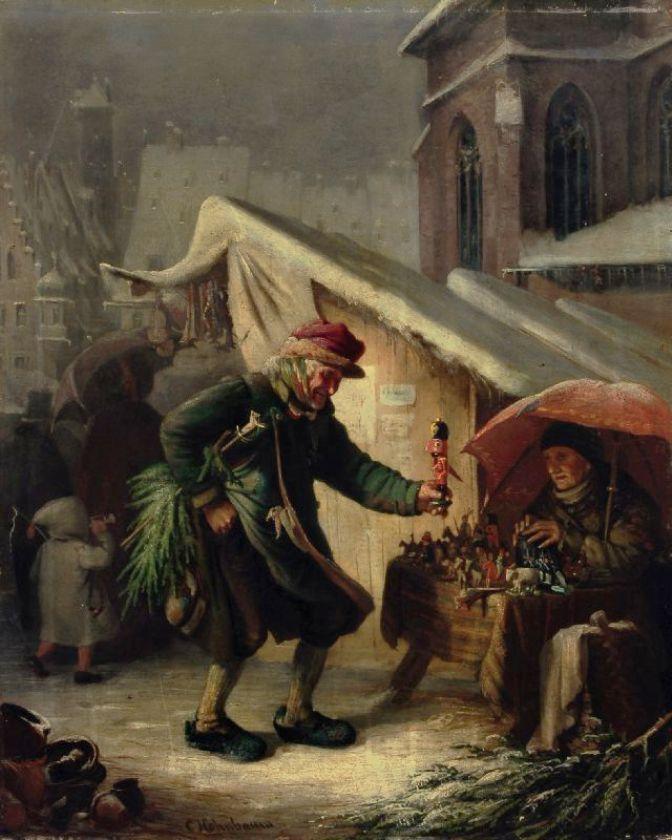 Раскраска деревянный солдатик