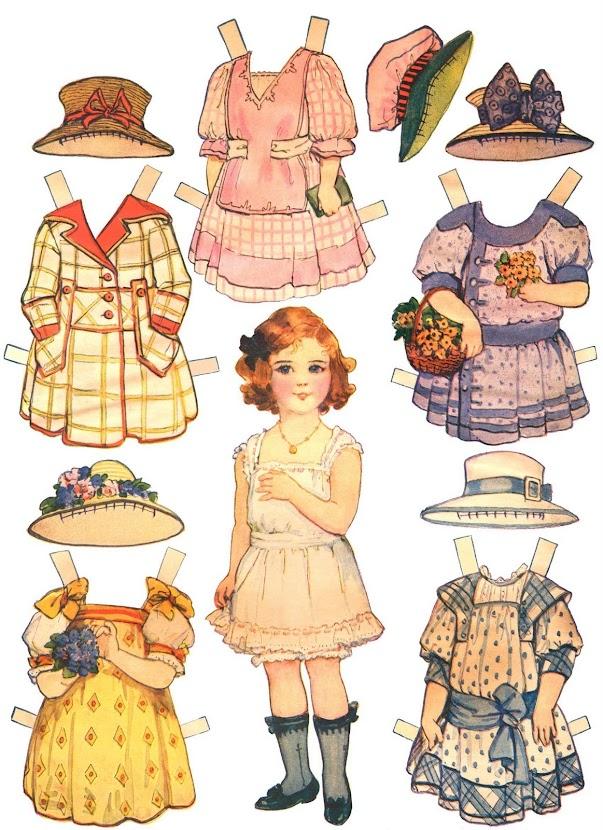 Платья для куклы вырезать