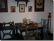 Museum dining area