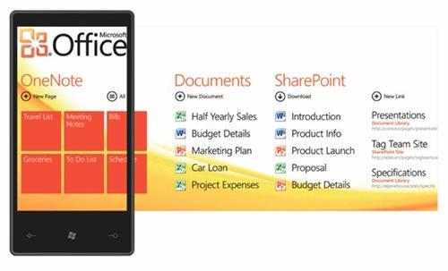 Windows Phone 7 Office