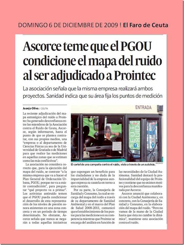 DOMINGO 6 DE DICIEMBRE DE 2009 ! El
