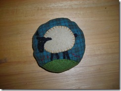 pincushion 2009 - sheep