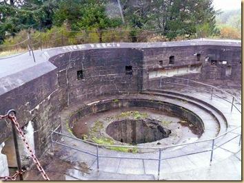 Fort Stevens Gun Mount