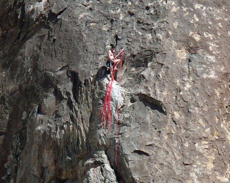 Hueco Mtn Climber