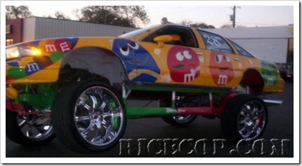 sweet candy vehicle