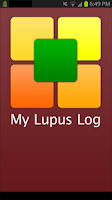 Screenshot of My Lupus Log