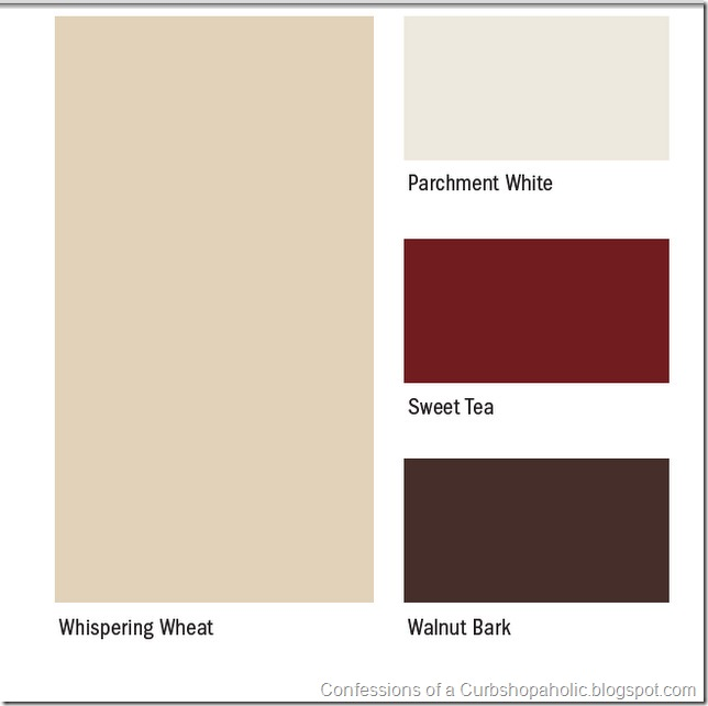 Paint Colors On Confessions Of A Curbshopaholic Picking Out Paint