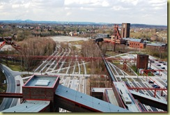 Zollverein - old Railway Tracks
