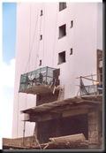 Fortaleza - Alle nye bygninger har flislagte yttervegger