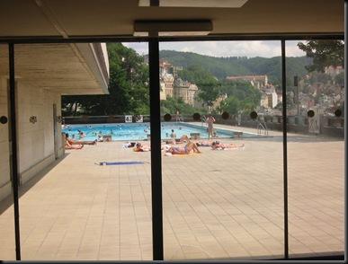 Karlovy Vary - public pool